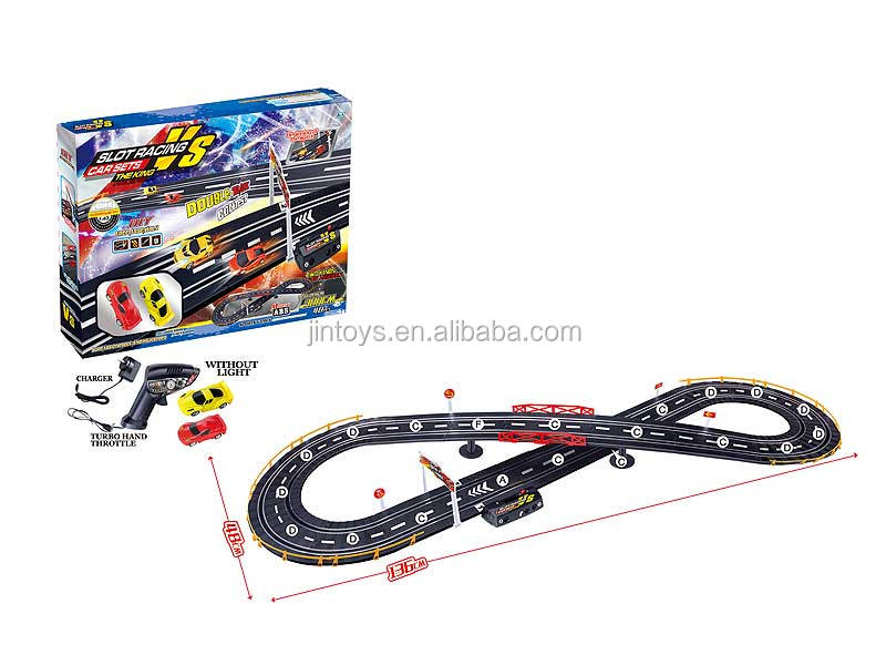 Educational toys electric super slot racing cars toys, tracking toys for wholesale, AA018796