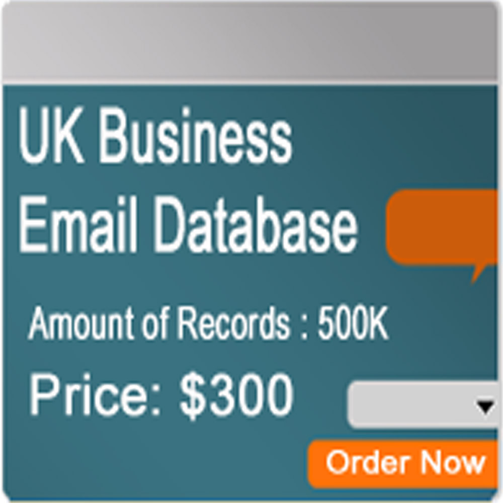 Uk Consumer Email Database - Buy B2c Database Product on Alibaba com