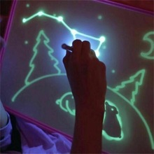 2019 HOT sales A3 A4 A5 magic freeze licht fluorescerende tekentafel tekenen met licht