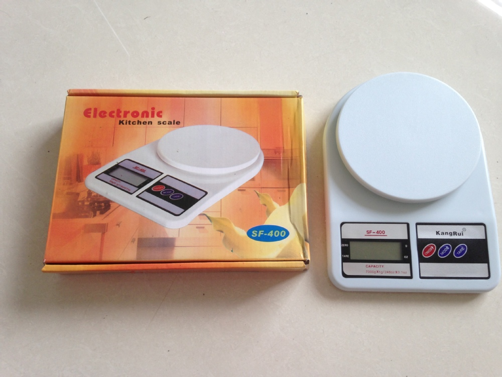 10kg Electronic Kitchen Scales Digital Scale Sf 400
