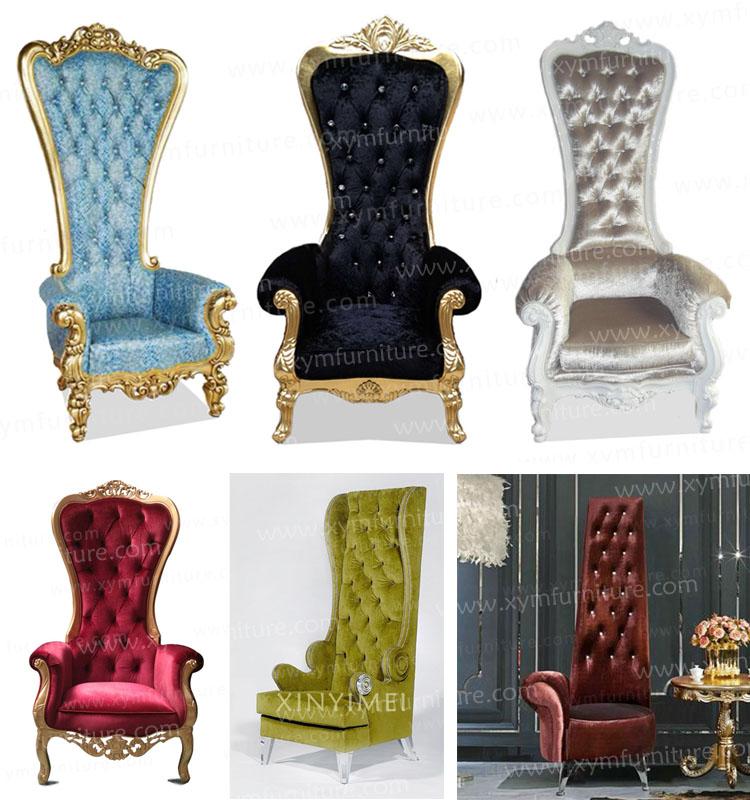Romantic King Queen Wedding Chairs Sale Xym C06 Buy Wedding Chairs Sale Wed