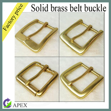 Good quality leather belt solid brass belt buckles