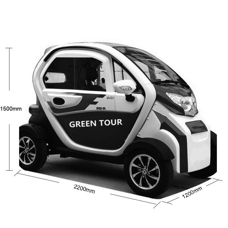 3 Posti Più Nuovo Popolare Cinese Elettrica Classica Automini Auto