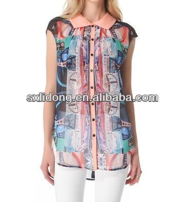 2013 Latest Sleeveless Silk Chiffon Tops Designs Girls Buy Latest Tops  Designs Girls Product on Alibaba. Top Designs Images