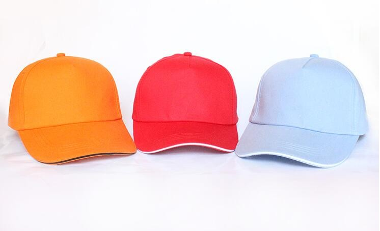 bf932e09e6a Red Cotton 6 Panel Unisex Custom Fitted Flex Fit Baseball Hat ...