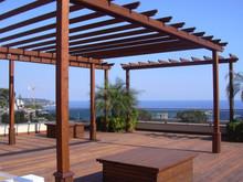 Outdoor Spa Pavillon Aus Holz Wpc Pavillon Bar Im Freien Pavillon