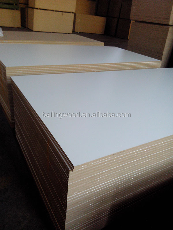 Good Quality Mdf 4x8 Melamine Sheet Melamine Mdf Sheet