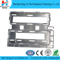 Car mould custom ABS PMMA auto spare parts radiator plastic parts