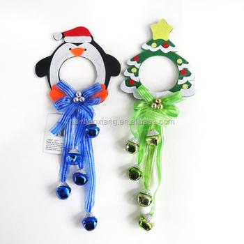 Whimsical Christmas Felt Doorknob Hangers With Bell Buy