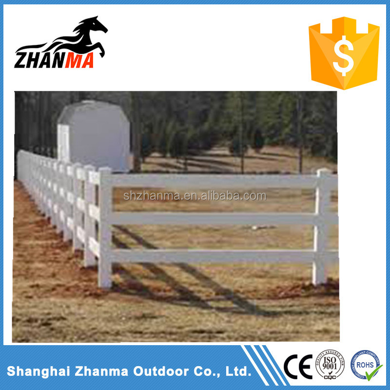 Plastic PVC Ranch Fencing orse Fence Panels