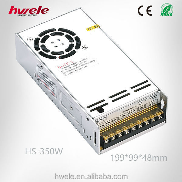 350W china manufacturer 12V power supply with CE ROHS KC certifications