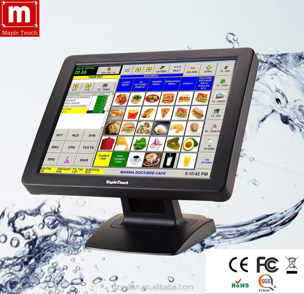 """Maple Touch 17"""" Touch Screen Pos Computer/touch Screen All In One ..."""