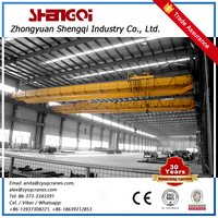 Cost-Effective 50 Ton Double Overhead Bridge Crane Radio Remote Control
