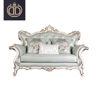 royal luxury wedding chairs for bride and groom sofas chair Victorian style living room furniture wooden sofa sets antique sofa