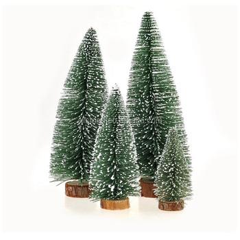 Mini Christmas Tree Tabletop Decoration Christmas Tree With Snow