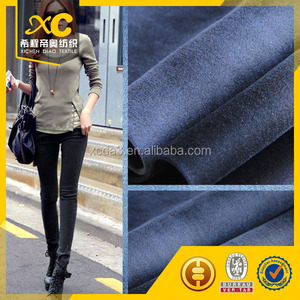 cheap price satin denim fabric export in containers every month