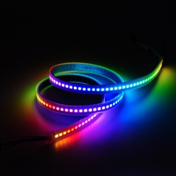 144 LEDs 1M DC5V RGB Led Strip Light WS2812 IP20 Non-waterproof Light Strips for Advertisement Home Indoor Outdoor Decoration