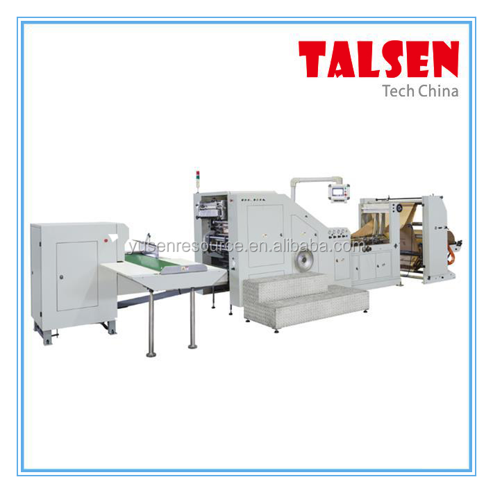 FDM-450 wenzhou machine manufacture paper product 1 layers kraft paper bag making machine for KFC bag making