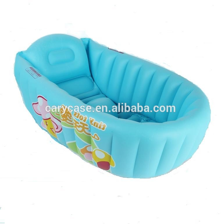 Inflatable Bathtub Newborn Baby Bath Tub Portable Children \'s Bath ...