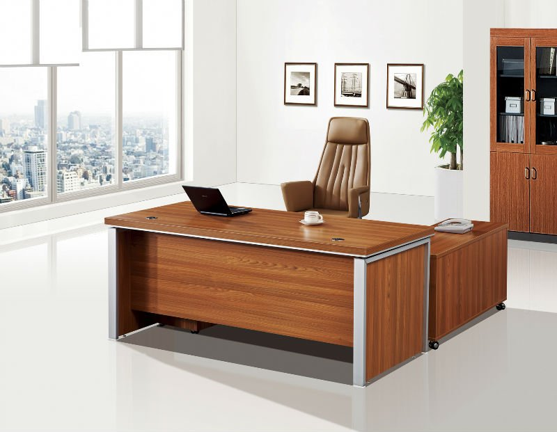 Fashion Wooden Manager Office Desk Modular Furniture Boss Reception Table