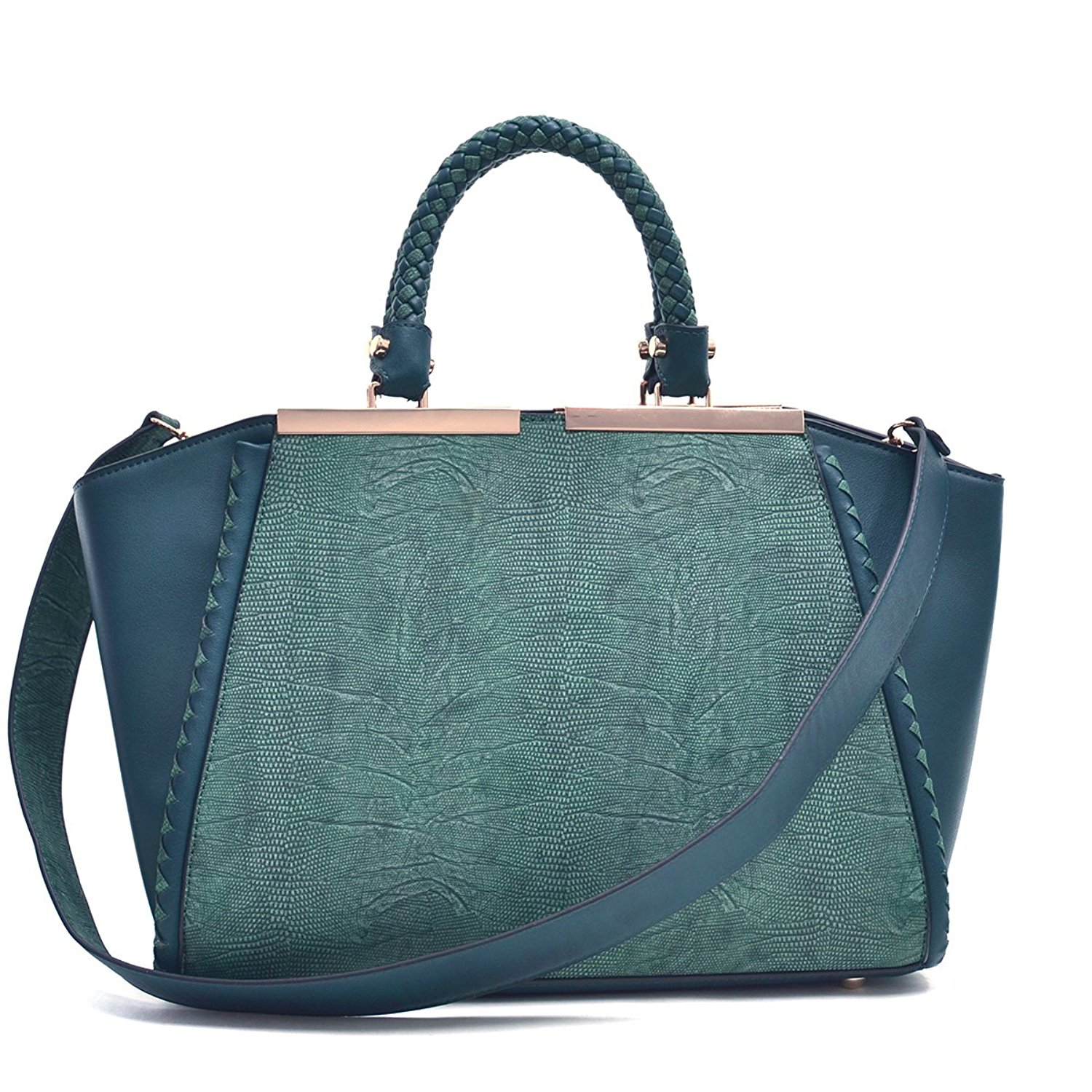 Get Quotations · MKP Collection Two Tone Winged Satchel~Beautiful Woman  Shoulder Handbag~Fashion Woman Tote  45e9240508