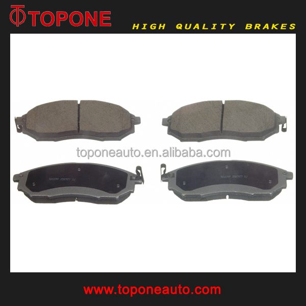 D888 For NISSAN MURANO Parts Brake Pad Manufactory 23698