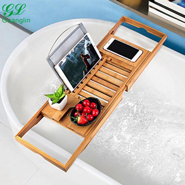 Bamboo Bathtub Caddy, Bamboo Bathtub Caddy Suppliers and ...