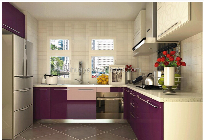 European style modern flat pack kitchen ready made for Best ready made kitchen cabinets