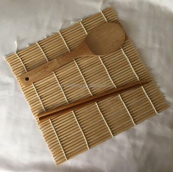 Bamboo Sushi Making Kit Including Rolling Mat Rice Paddle And Chopsticks Buy Bamboo Sushi Mat Sushi Maker Sushi Kit Product On Alibaba Com