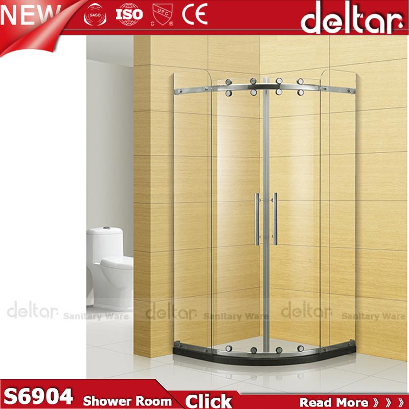 Bath Shower Unit Door Round Glass Shower Cabin Factory Sale