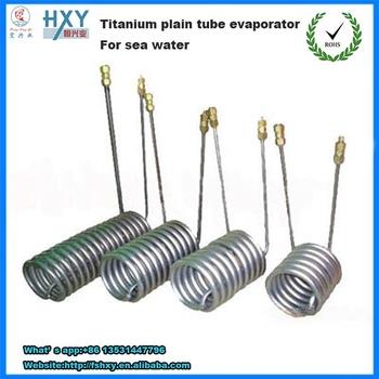 Refrigerator Condenser titanium refrigerator cooling condenser evaporator coil/coils
