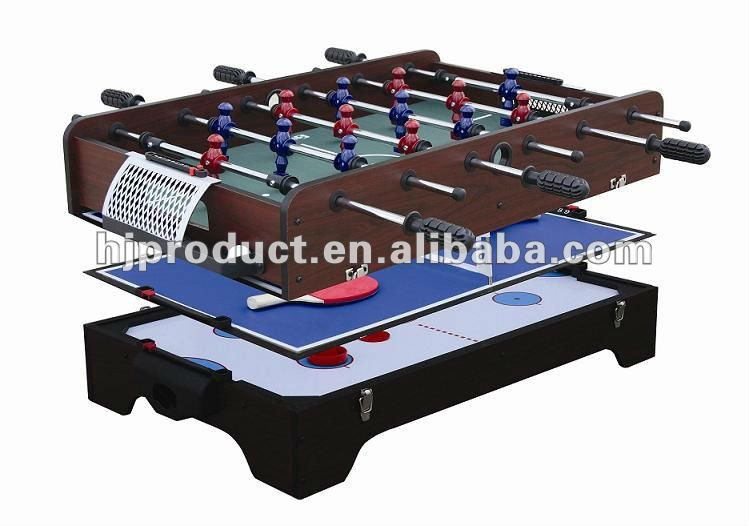 Table top 3 in 1 Air hockey table with multi functions