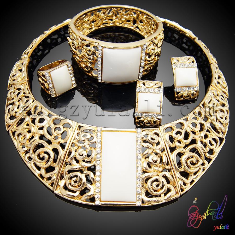 Dubai oro 22k joyer a conjunto nigeria dise os joyas de for Disenos de joyas en oro