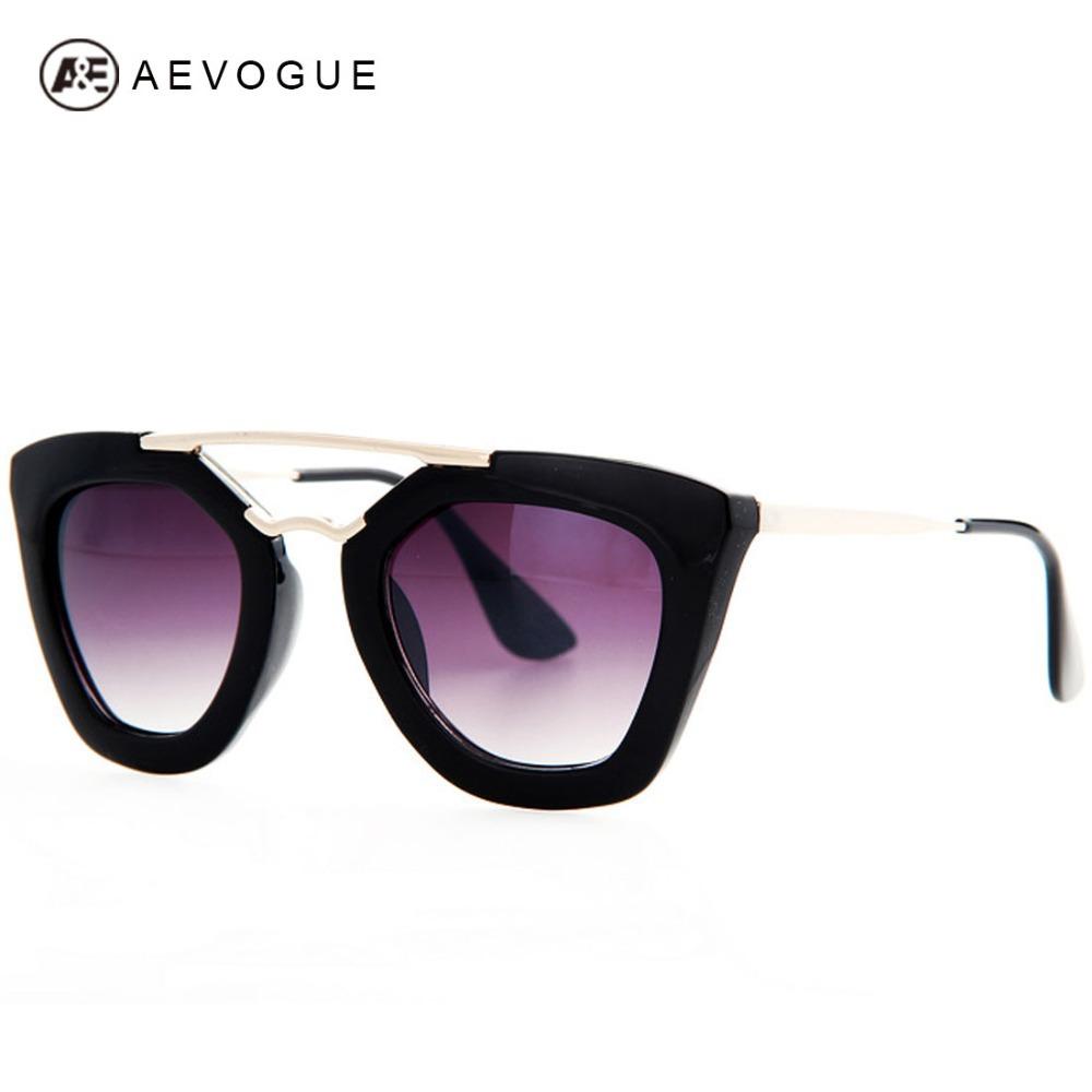 AEVOGUE Brand Design Butterfly Vintage Eyewear Sunglasses Women Most Popular Good Quality Sun Glasses Female UV400