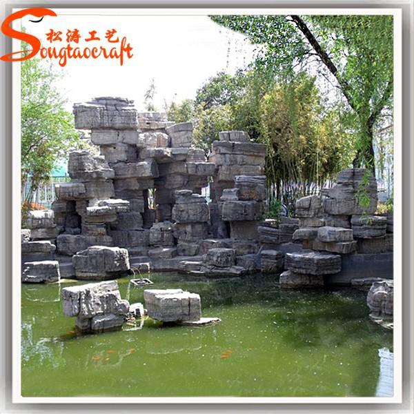 progettazione di fontane da interno e cascate con pompa della ...