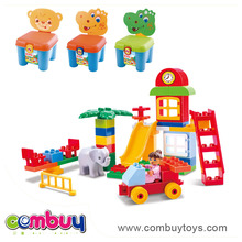 New product collect set children chair toys large concrete blocks