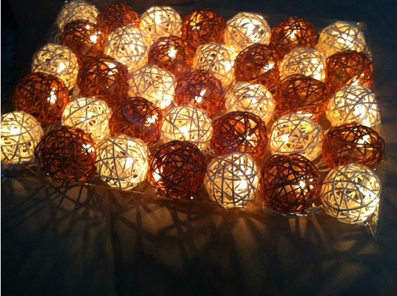 Decorative Light Balls Extraordinary Garden Decoration Patio Light Decorative Ball Shape Christmas Design Inspiration