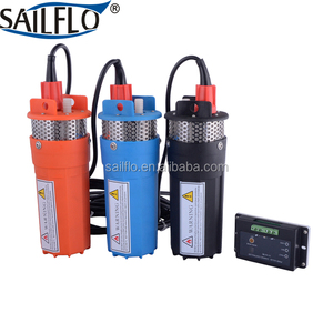 Sailflo 6LPM dc 12 v 24 v Submersible pump/high pressure deep well solar water pump system