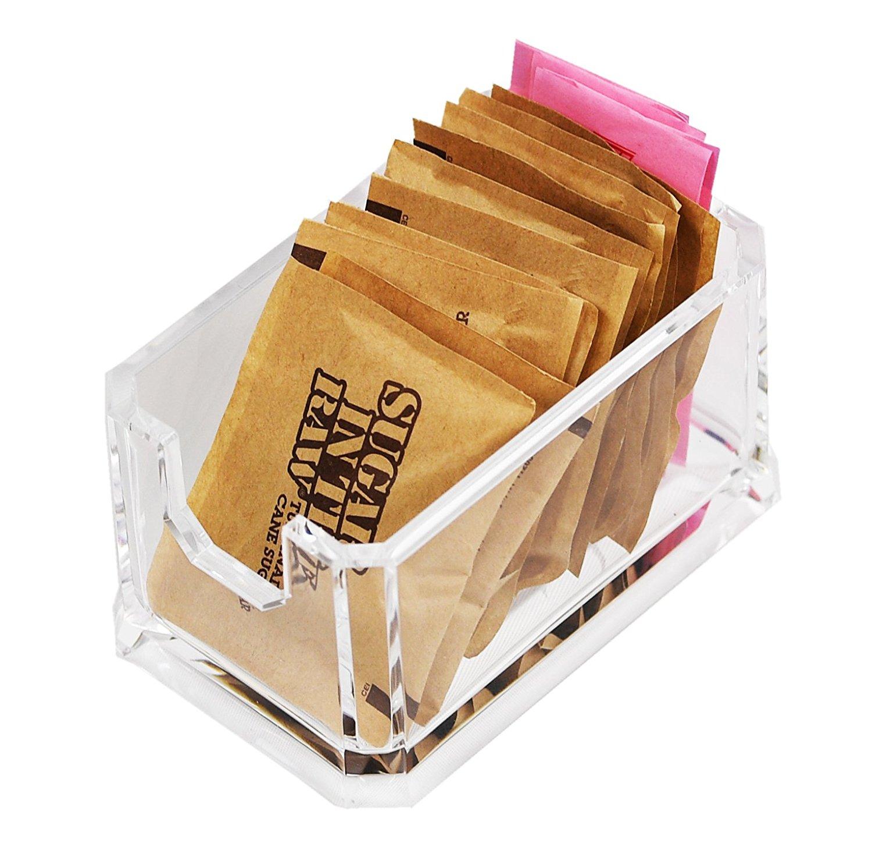 ARAD Packet Sugar Holder, Storage Countertop Container, Sugar Packet Storage, Packet Dispenser Alternative, Sugar Packet Holder, Sweetener Holder, Sugar Caddy, Sugar Bag Holder