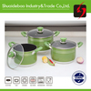 high pressure cooking pot and pan with bakelite handle non-stick ceramic