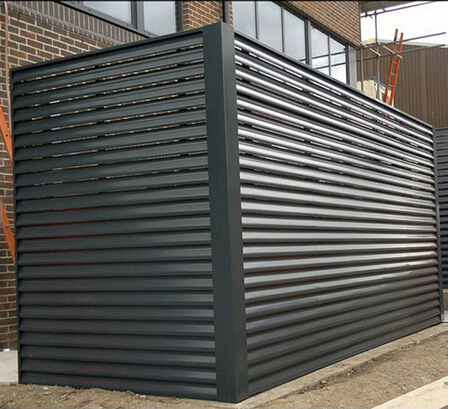Exterior Prefabricated Fixed Aluminum Louver Fence Buy