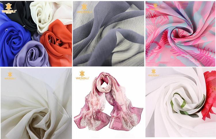 ขายส่งดอกไม้รูปแบบผ้าไหมซาตินพิมพ์เสื้อผ้าผ้า