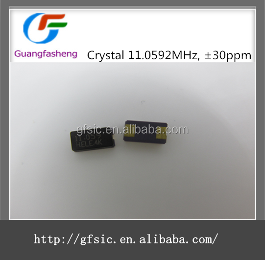 (hot sale)Crystal 11.0592MHz, 30ppm