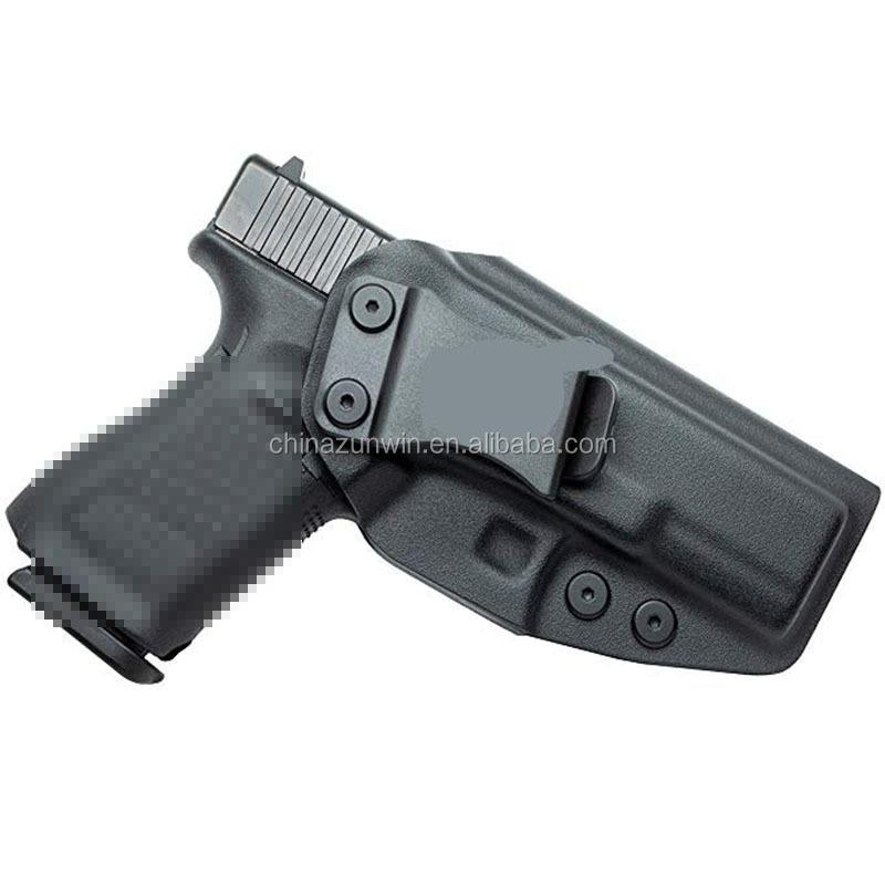 Gen 1 through Gen 5 Kydex Holster-IWB-Right Hand-Brown For Glock 19 19X 23 32