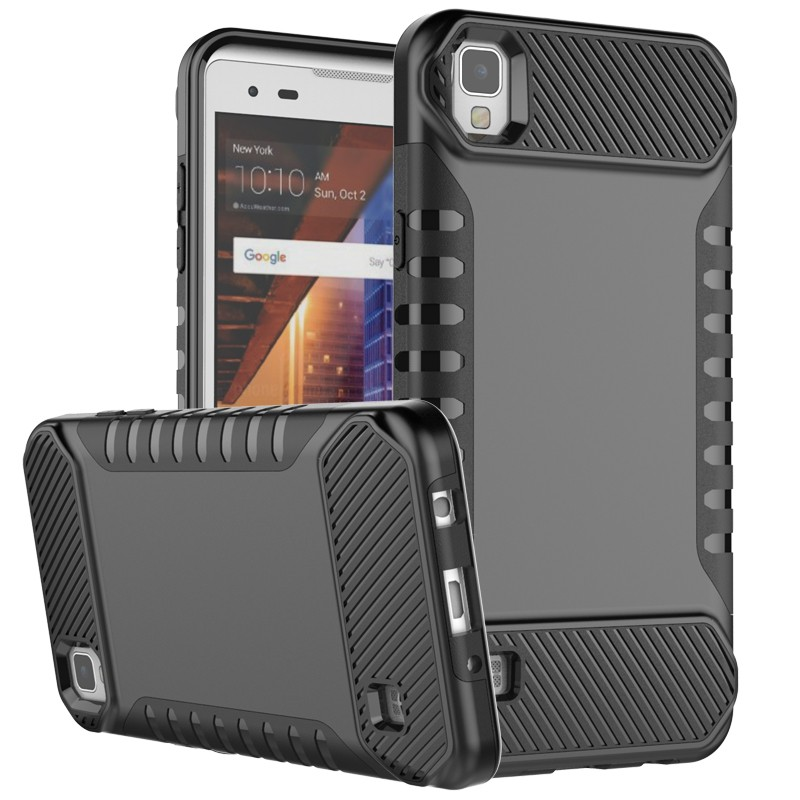 High quality 2 in 1 hybrid mobile phone case for lg x screen