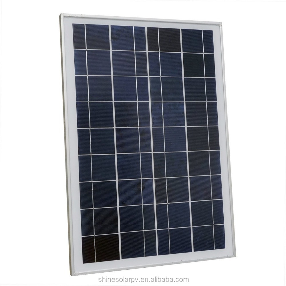 High quality poly solar panel in China poly solar panel with lower price 25w solar panel 12v pv modules price