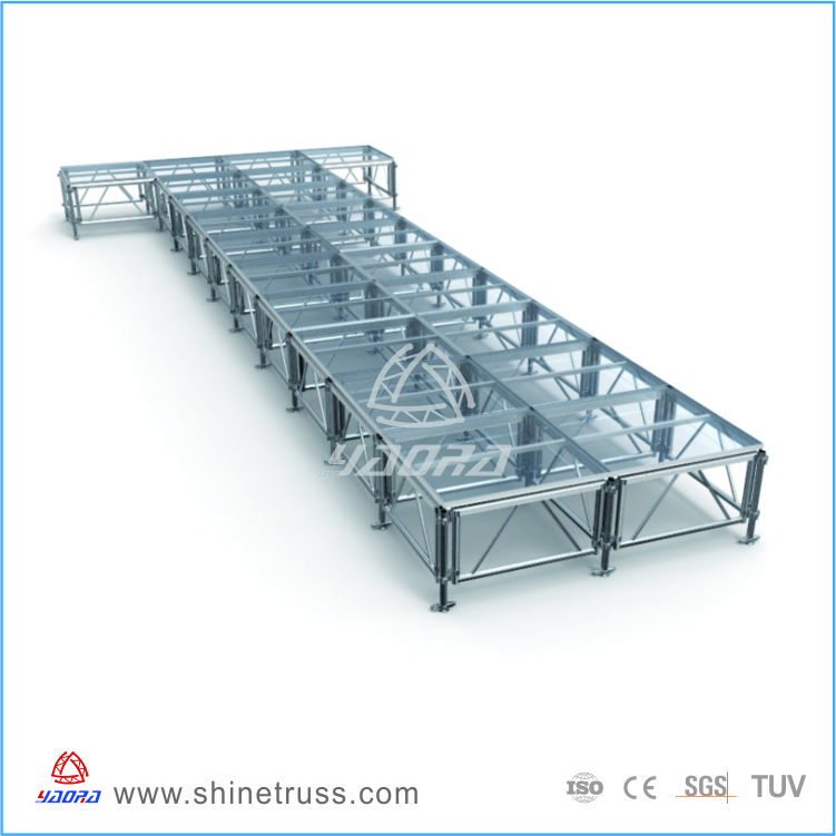 factory price ISO assembling wedding mandap stage