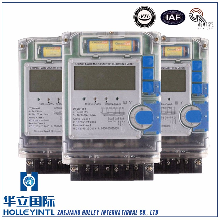 Provides auto/manual scrolling display Electricity Meter Cards