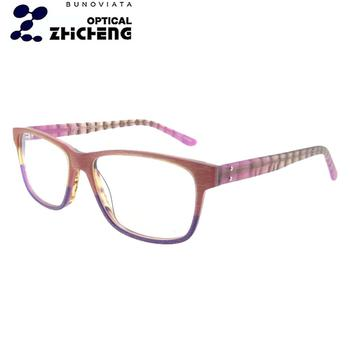 5930ff072dfc popular fashion design eyewear optical frames reading glasses with spring  hinge from China