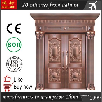House Gate Indian House Main Gate Designs Copper Double Door